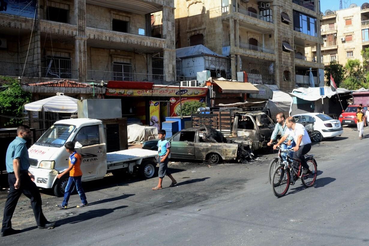 SYRIA-CONFLICT-ALEPPO - 201607