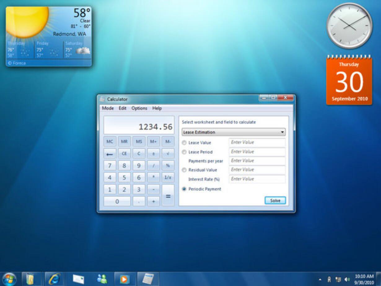 Windows 7 snyder med sit navn