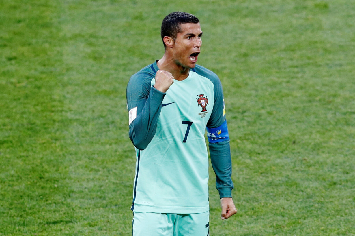 Russia v Portugal - FIFA Confe