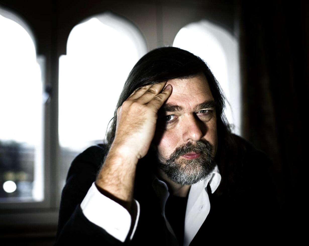 Filminstruktøren Kristian Levring står bag kommende dansk gyserfilm sammenmed Lars von Trier. Foto: Niels Ahlmann Olesen.