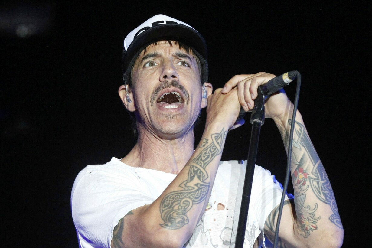Anthony Kiedis of the Red Hot