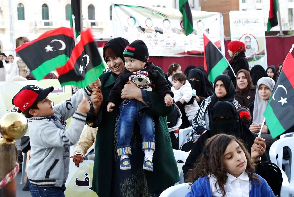 LIBYA-CONFLICT-DEMO