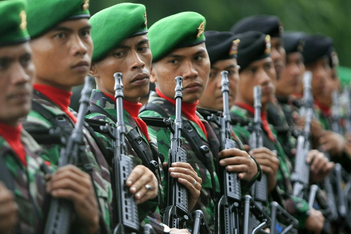 INDONESIA MILITARY TRAINING