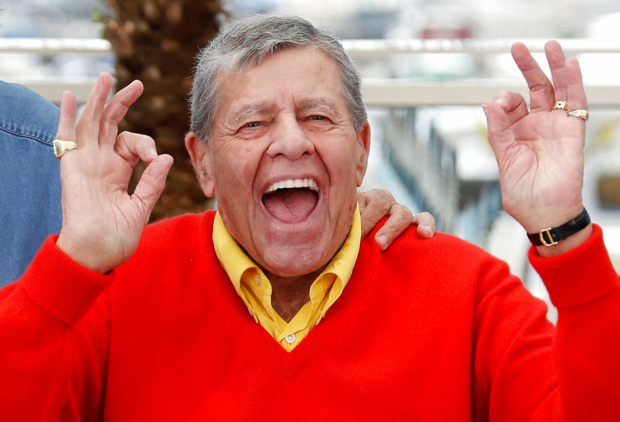 PEOPLE-JERRY LEWIS/