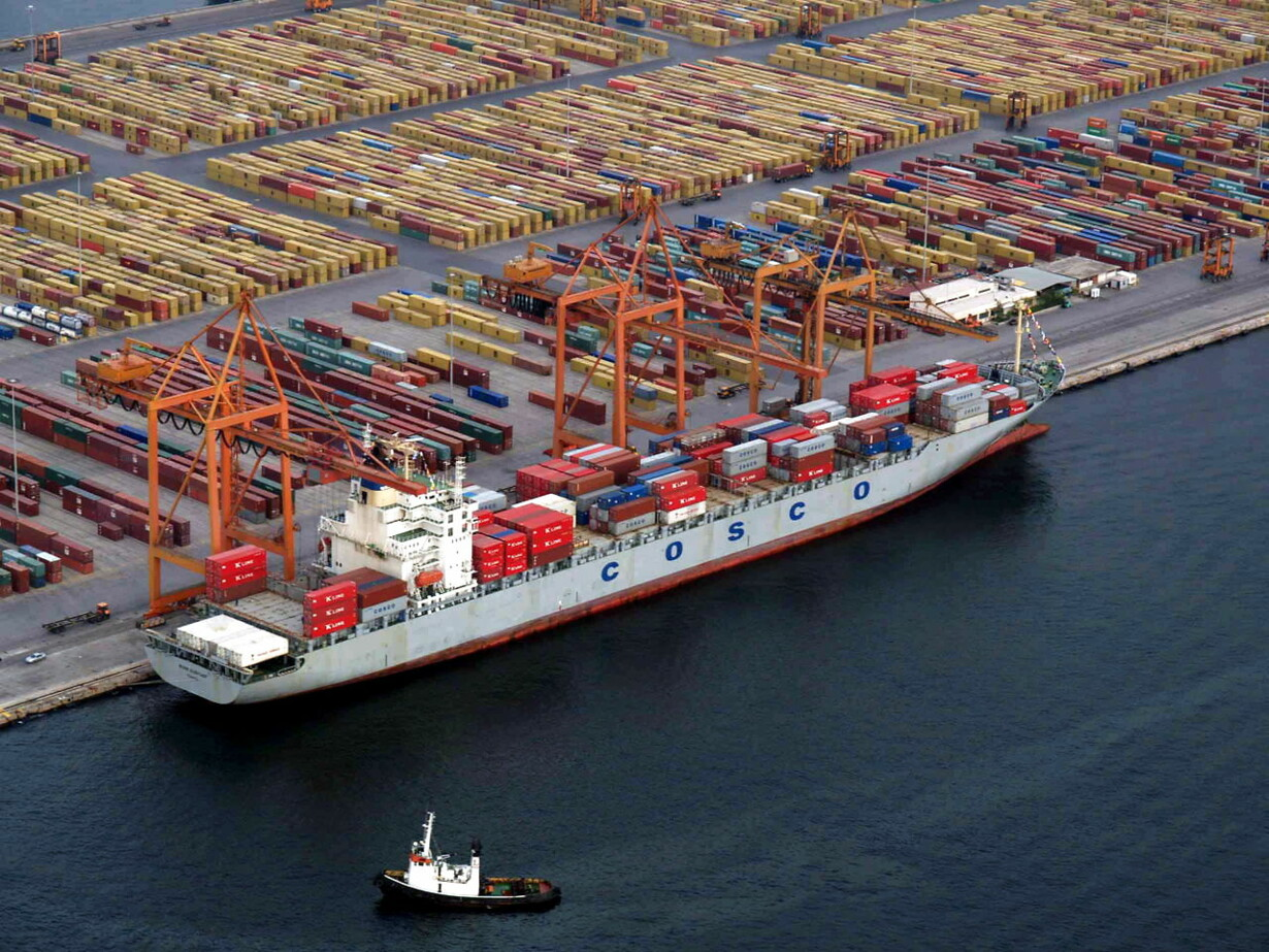 GREECE ECONOMY CHINA COSCO NAVIGATION