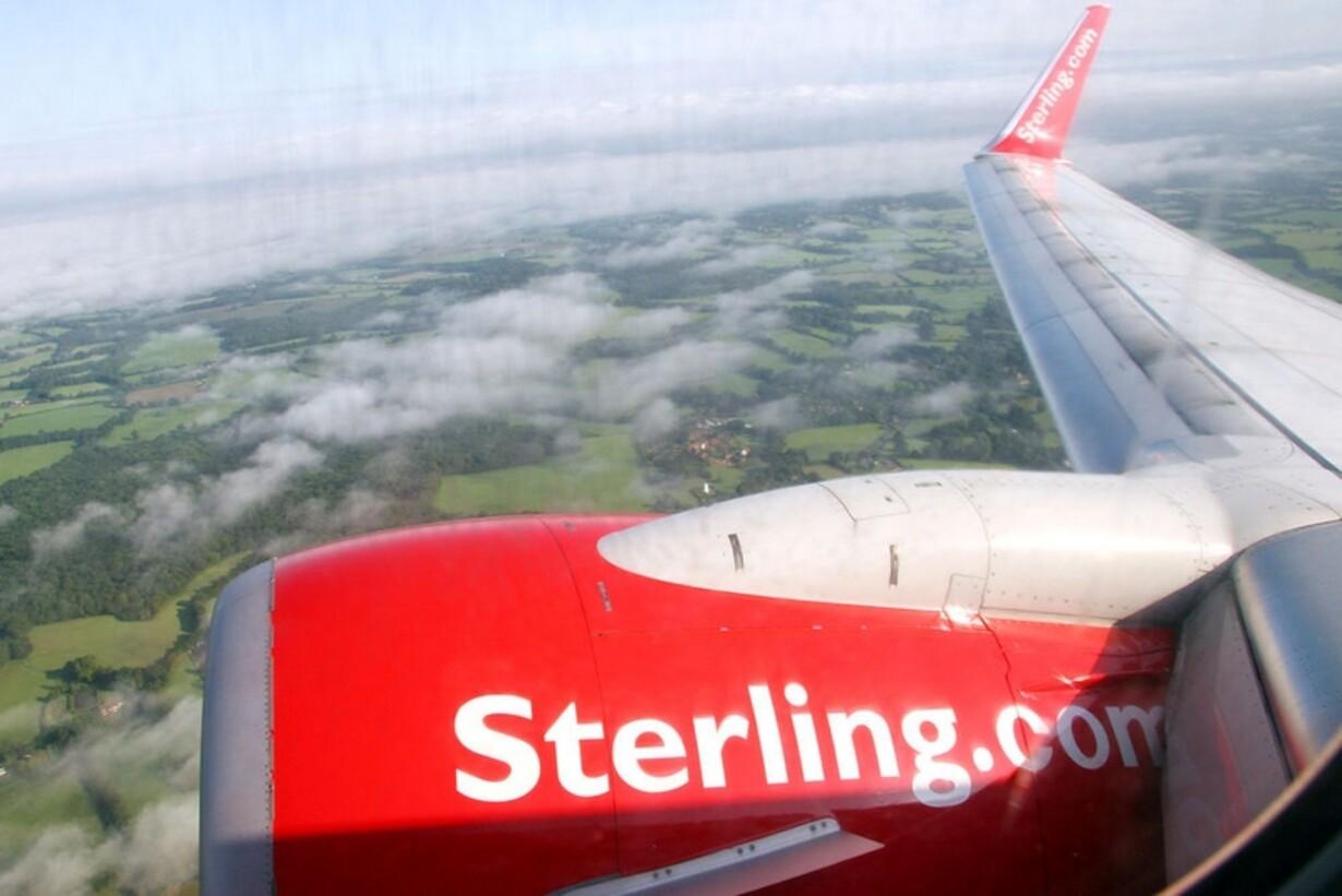 Cimber Sterling er født - 1