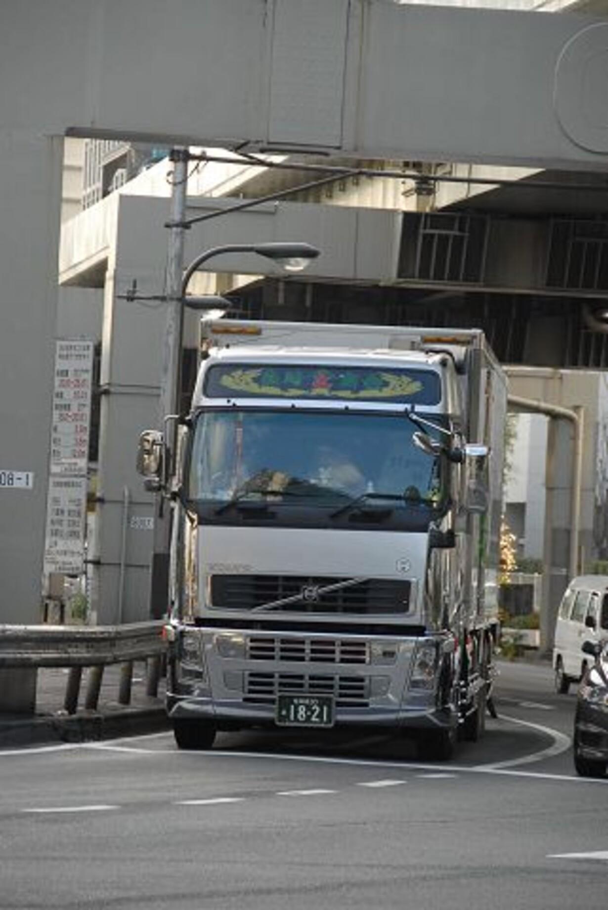 Gadebillede med erhvervskøretøjer - 6