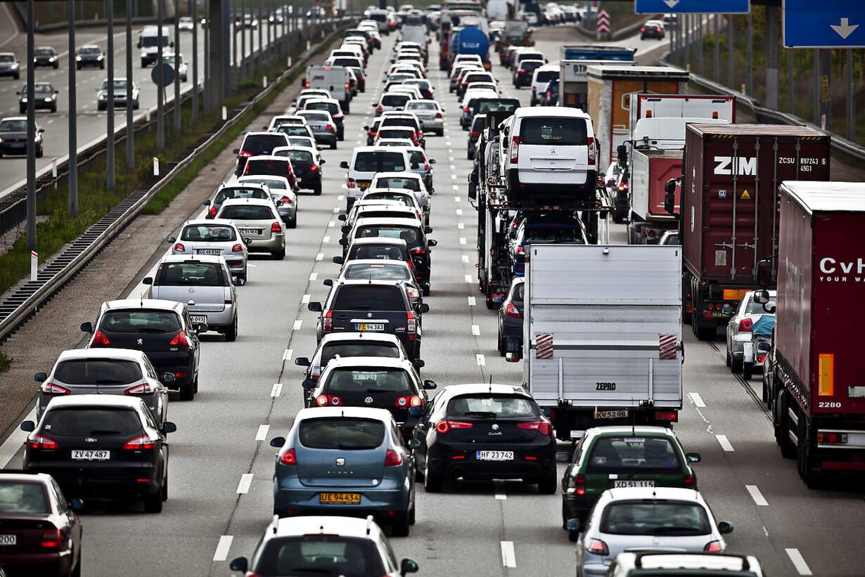 Danskerne har fire gange så mange biler som i 1963