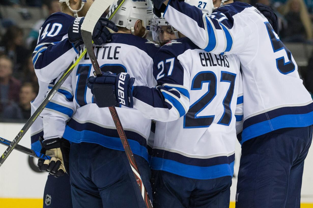 NHL: Winnipeg Jets at San Jose