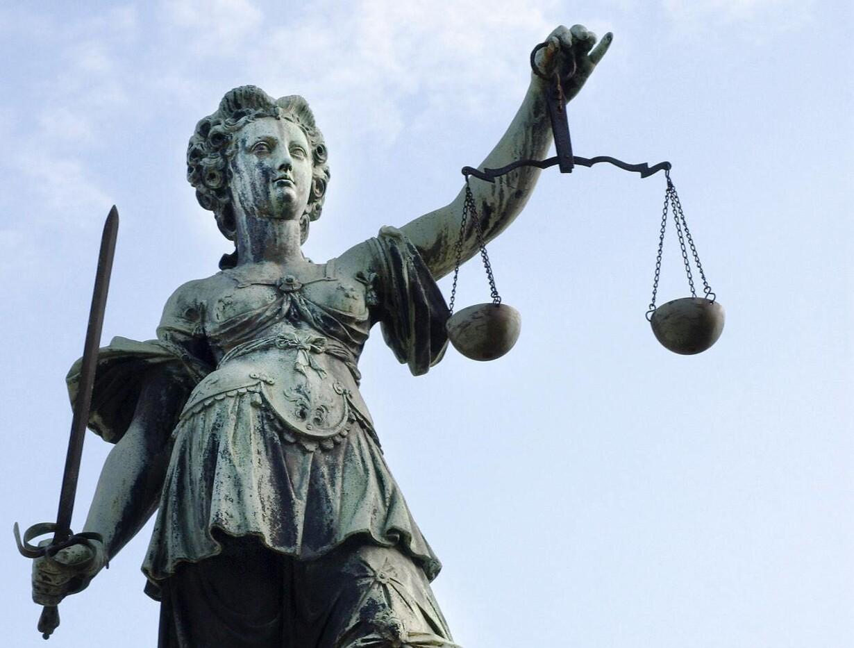 Retfærdigheds gudinden Justicia - Justitia.
