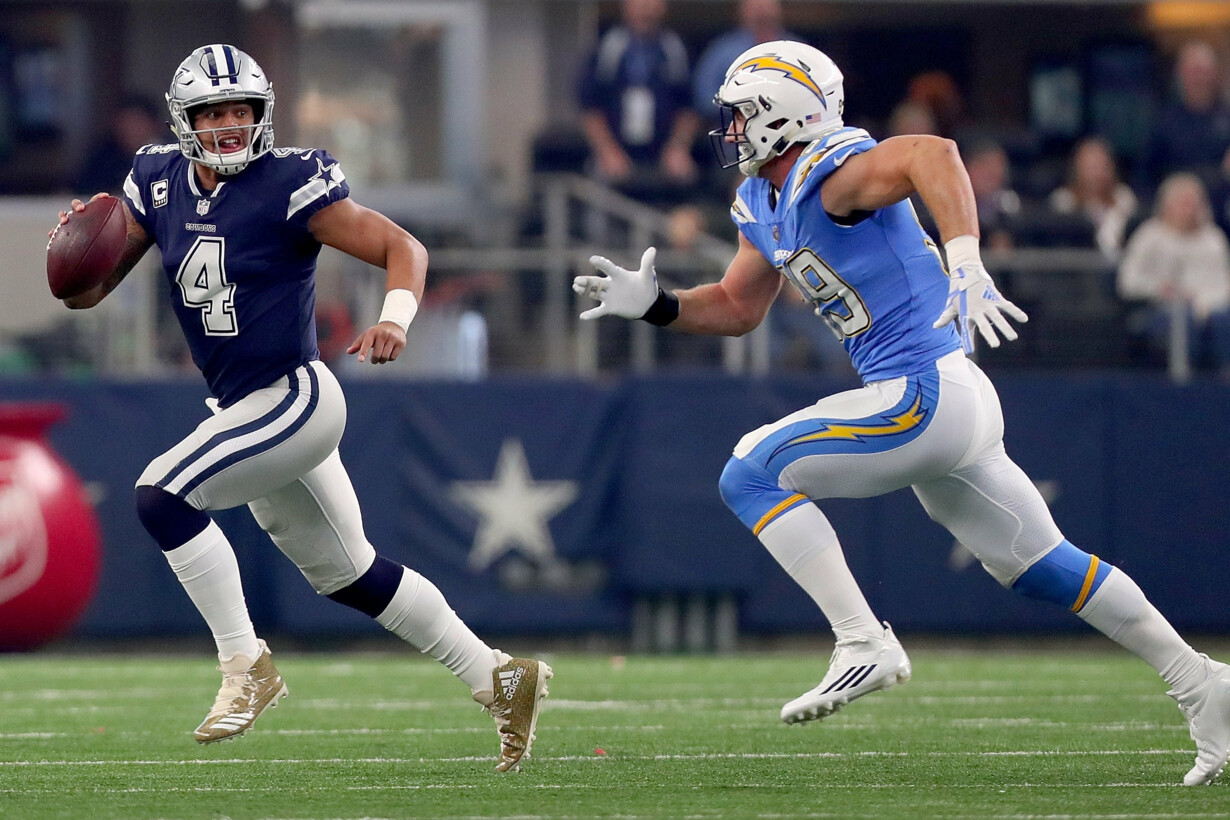 Los Angeles Chargers v Dallas