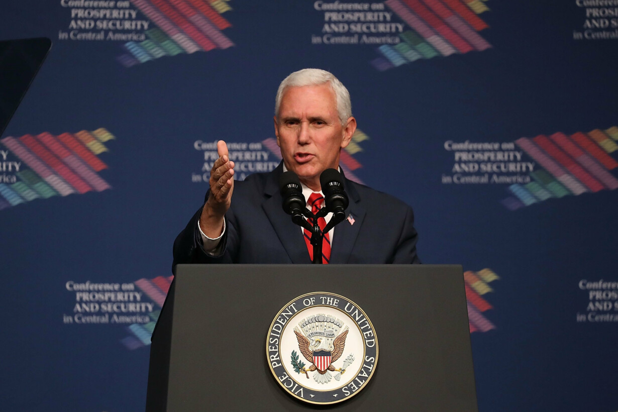 Vice President Pence Speaks At