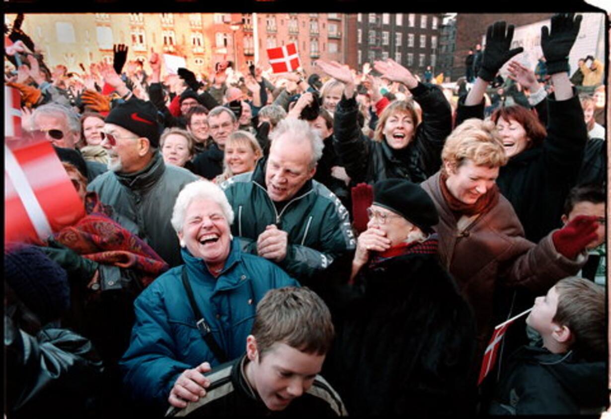 de lykkelige danskere