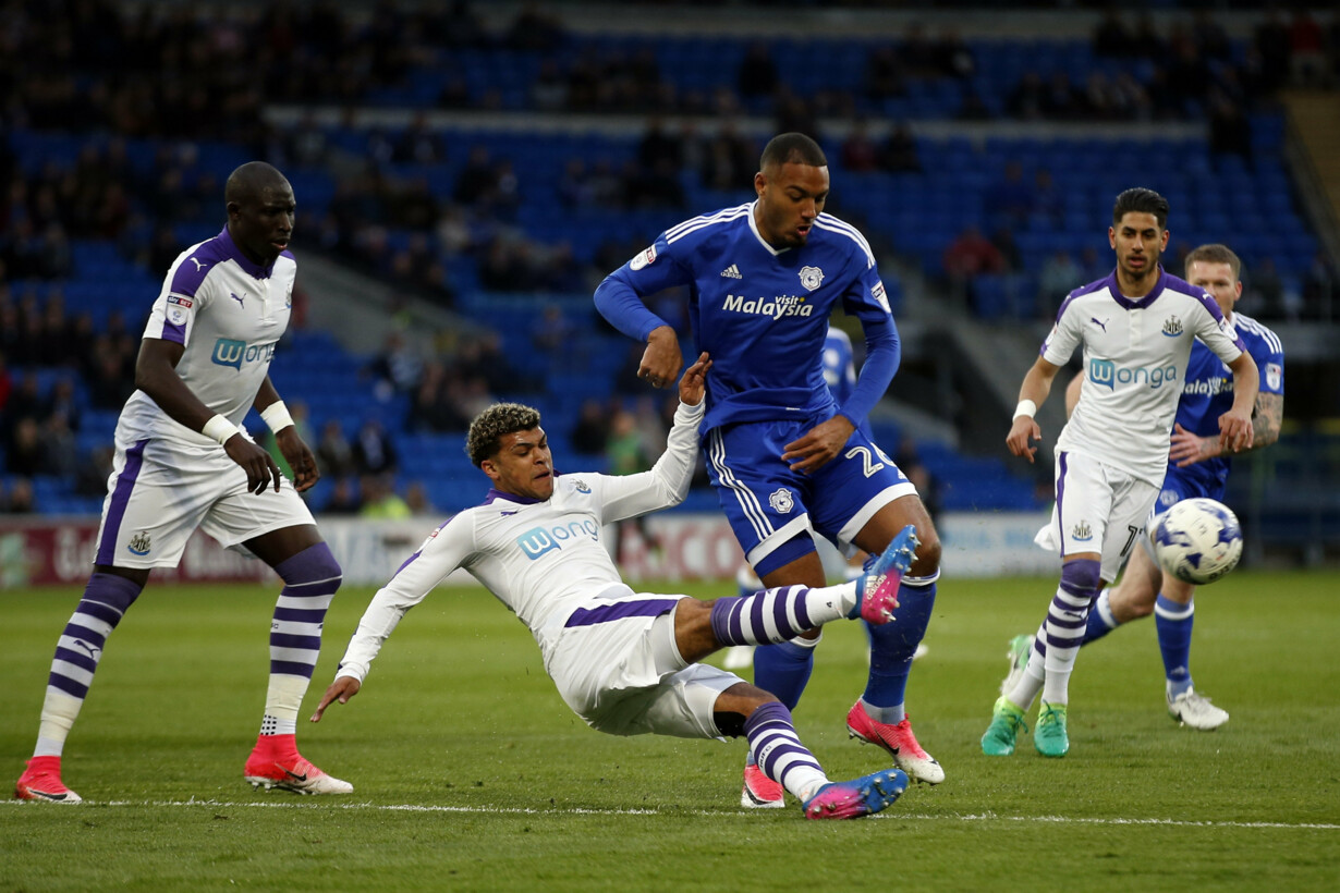 Cardiff City''s Kenneth Zohore