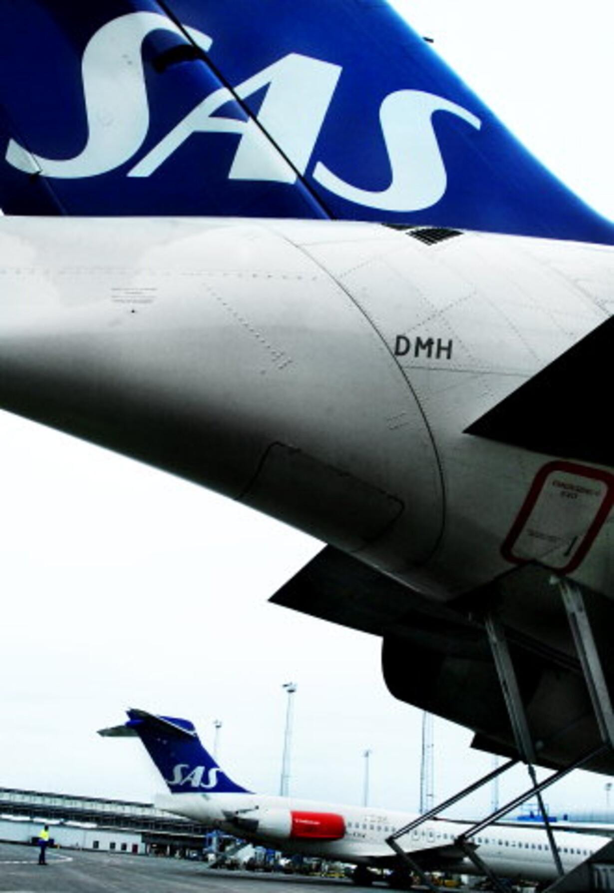 SAS skal splittes op - 1
