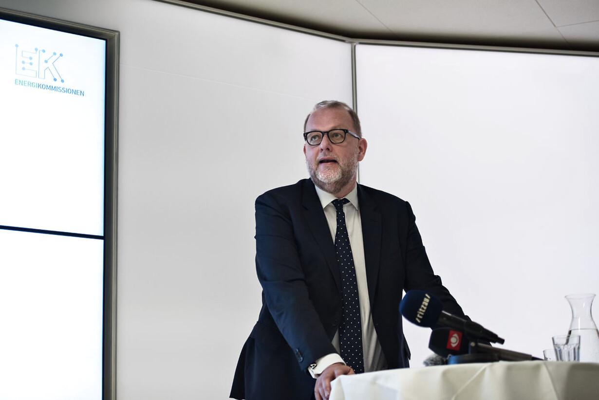 Energikommissionen offentliggør sin rapport