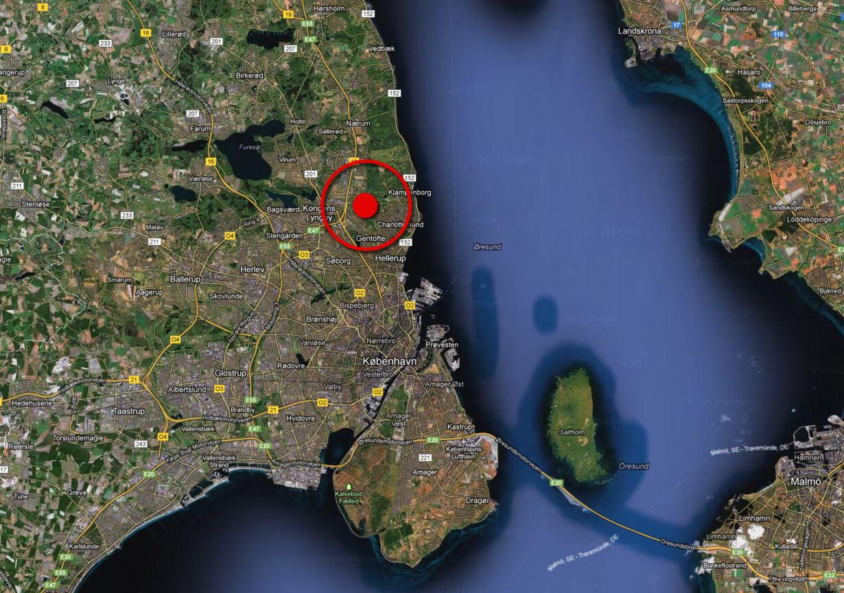 Kvinde fundet død i baghave i Gentofte