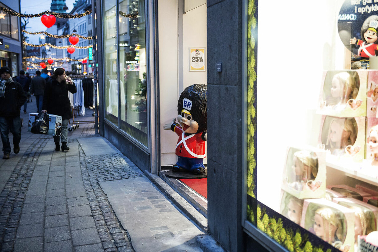 Juleshopping på strøget i København