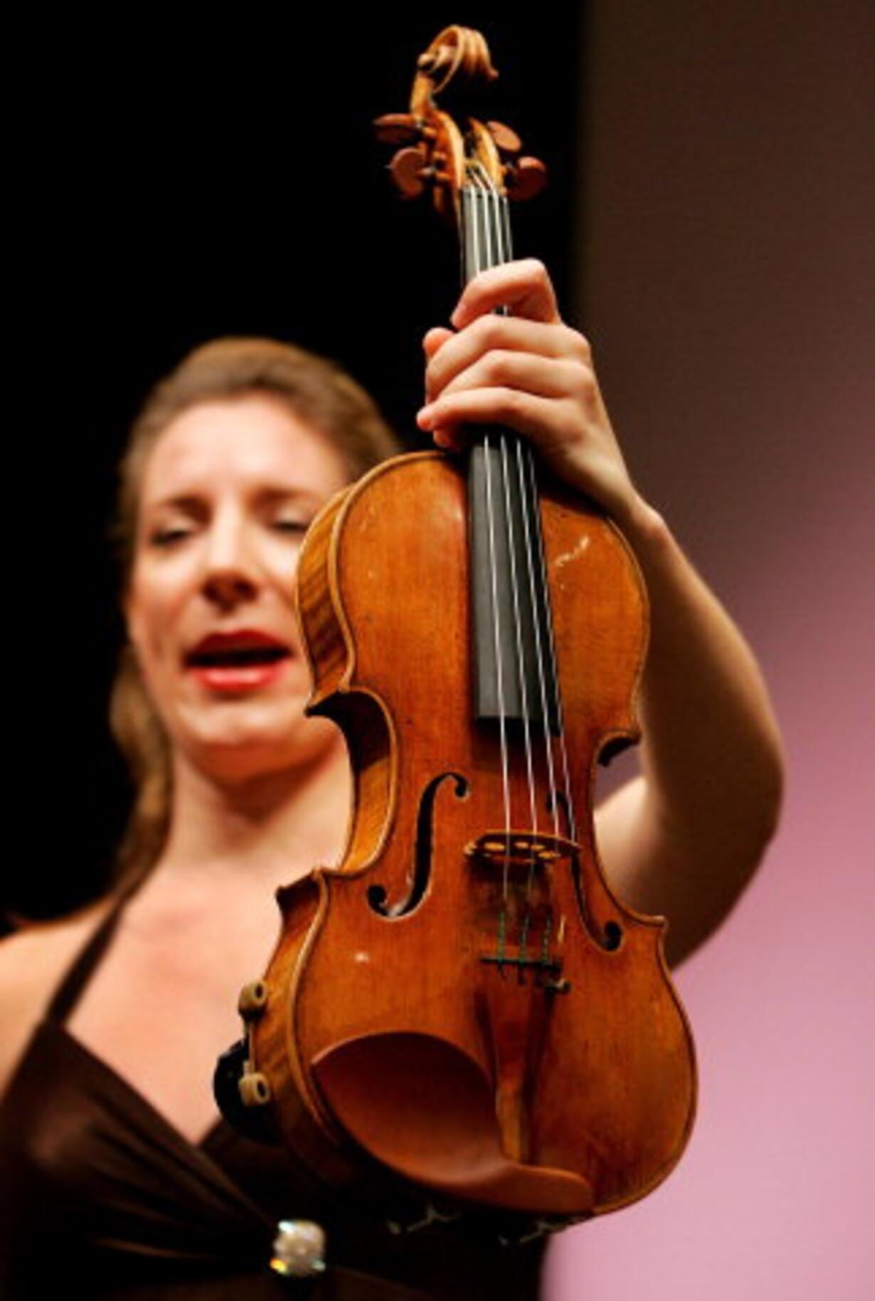 Hammerslag på verdens dyreste Stradivarius - 1