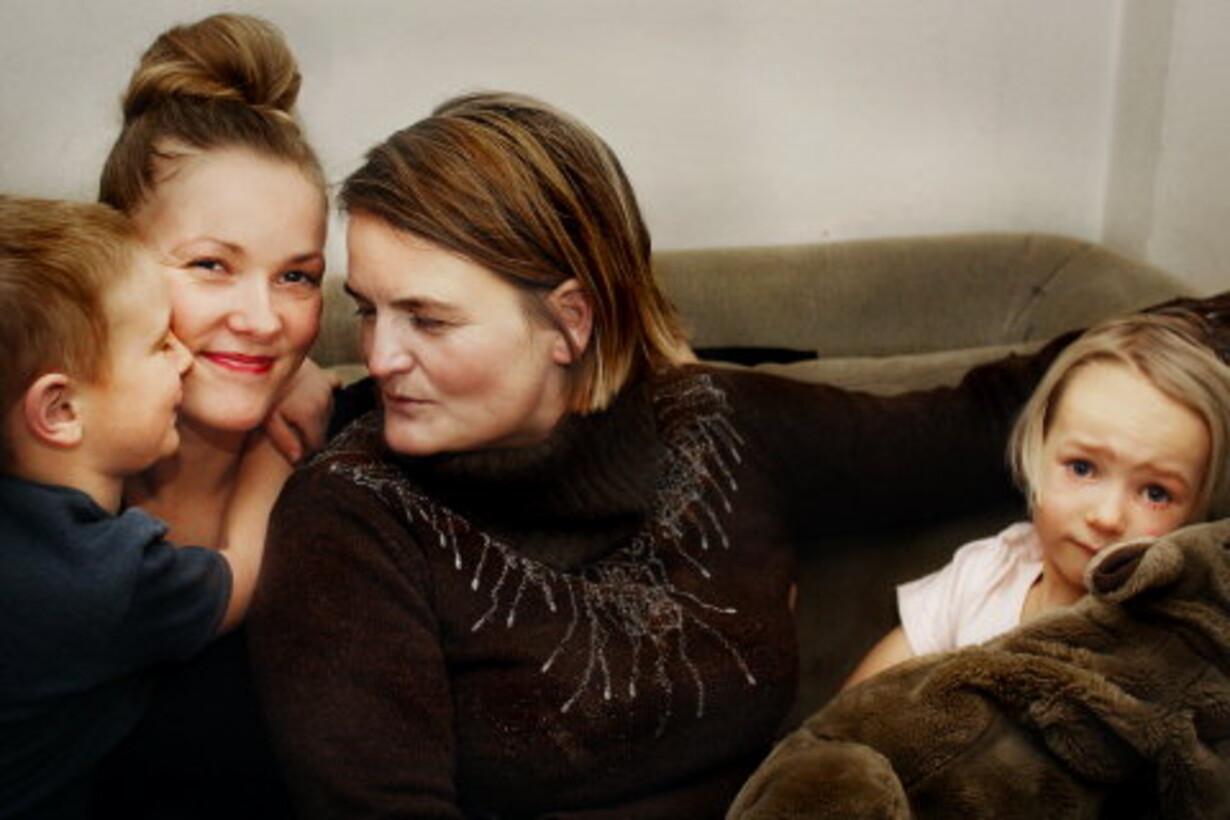 Gammel lesbisk mor