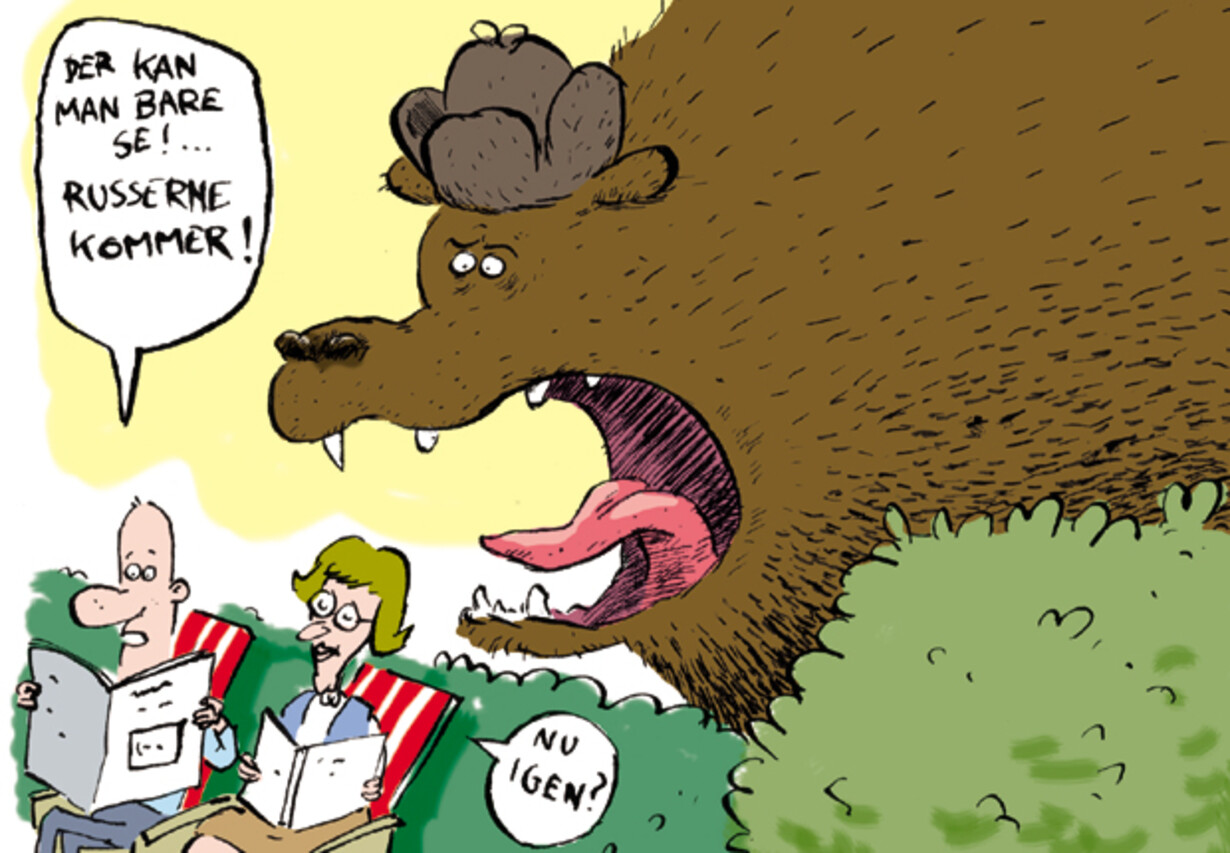 Den russiske bjørn bider fra sig - 1