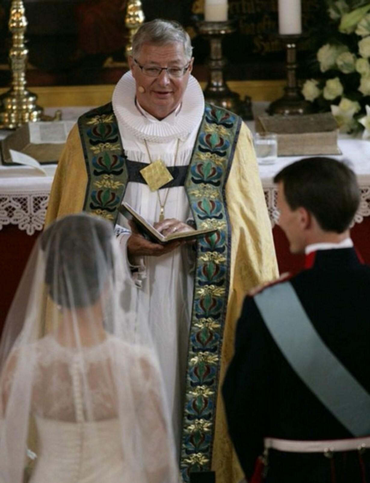 Skilsmisser og pap-børn i bryllupstalen - 1