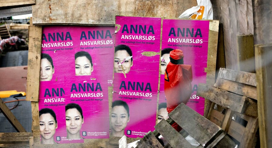 I forbindelse med kommunalvalget er der flere steder i København blevet hængt »Anna Ansvarsløs«-plakater op. Troels Christian Jakobsen, der er kandidat for Alternativet i København, har været med at sætte kampagnen i søen, men afviser at have haft noget med plakaterne at gøre.
