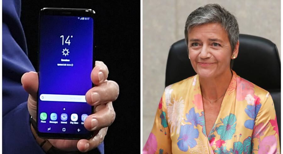 Google står bag mobilstyresystemet Android, som er verdens mest brugte, men udnytter sin styring til skade for konkurrencen, mener EUs konkurrencekommissær, Margrethe Vestager.