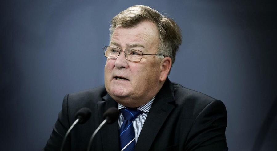 Russerne intimiderer og opruster, siger Claus Hjort om behov for ny kommandostruktur i forsvarsalliancen.