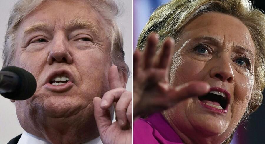 ARKIVFOTO: Amerikanernes stemmesedler er lange som en gammeldags smørrebrødsseddel og med lige så mange muligheder.