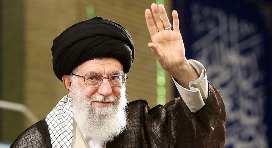 Irans øverste leder, ayatollah Ali Khamenei.