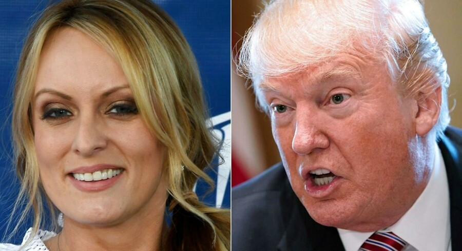 Tidligere pornostjerne føler sig frit stillet, efter at Trumps advokat har indrømmet at have betalt hende.