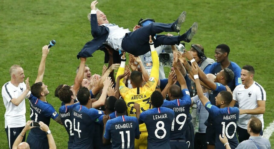 Frankrig fejrer!
