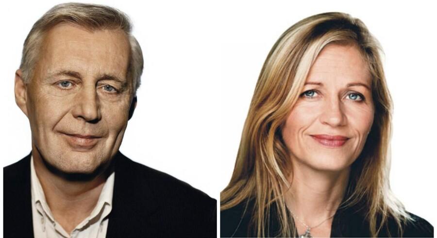 Henrik Dam Kristensen (v). Marie Krarup (h).