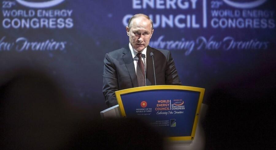 Russisk præsident, Vladimir Putin.