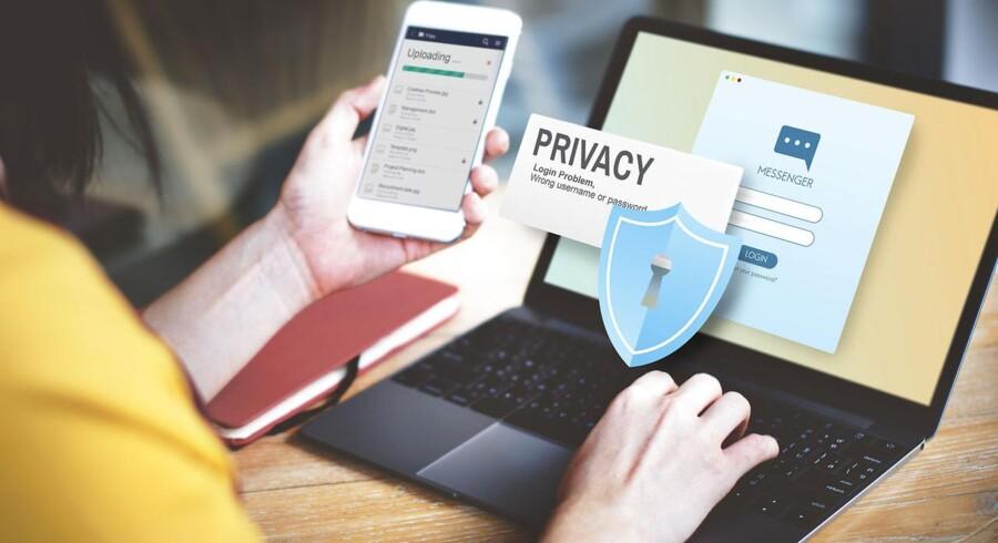 EU arbejder på at stramme skruen yderligere for at sikre privatlivets fred, så indholdet af elektronisk kommunikation også skal sikres langt bedre end nu. Arkivfoto: Iris/Scanpix