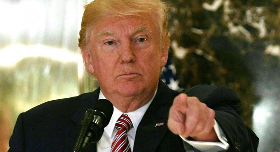 Arkivfoto: »Dette problem begyndte ikke, den dag Donald Trump (USA's præsident, red.) blev valgt. Men det var her, at mange begyndte at tænke på det.«