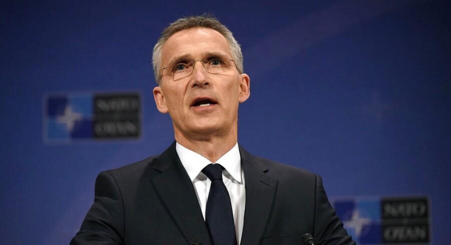 NATOs generalsekretær, Jens Stoltenberg.