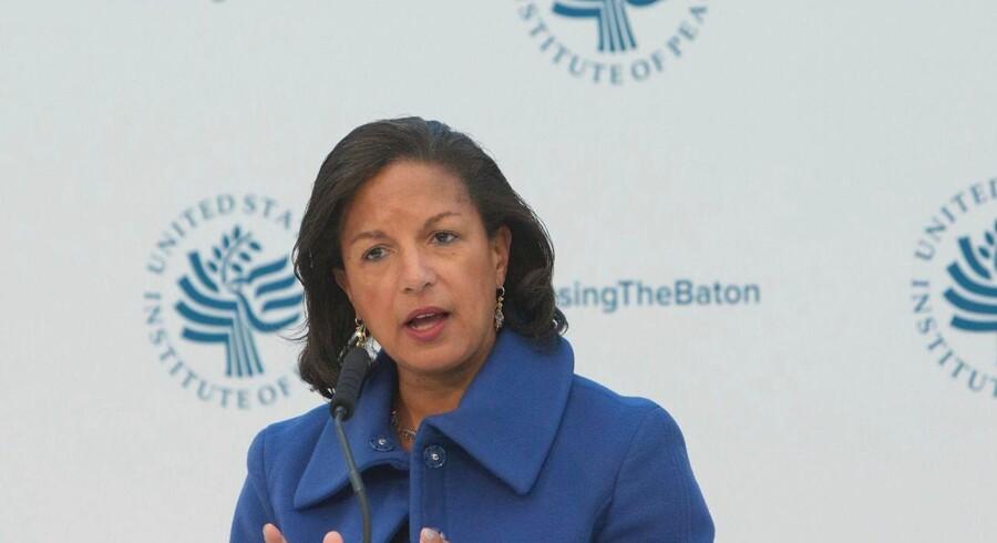 Preæsident Obamas sikkerhedsrådgiver Susan Rice