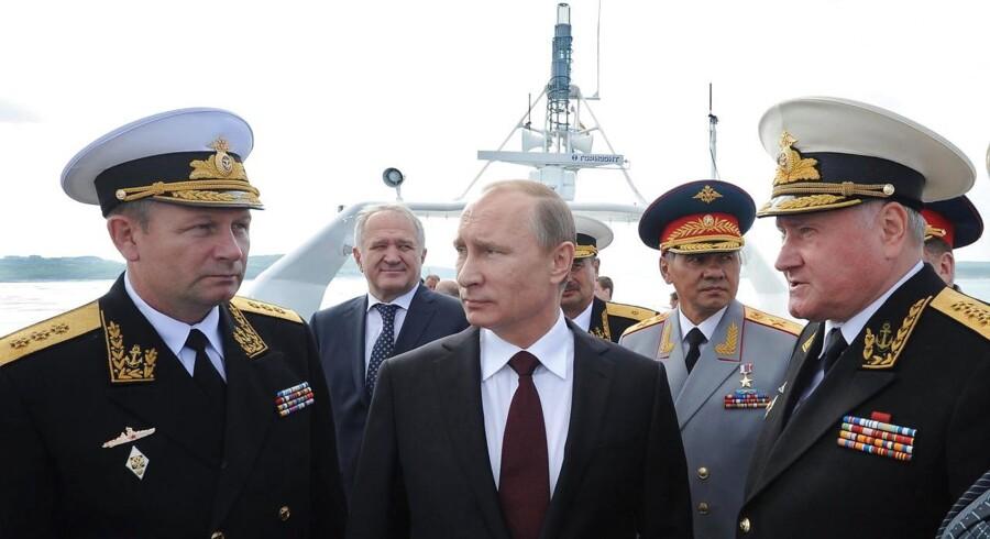 Vladimir Putin deltager torsdag i den arktiske konference i den russiske by Arkhangelsk, hvor Anders Samuelsen (LA) i dag holdt åbningstale.