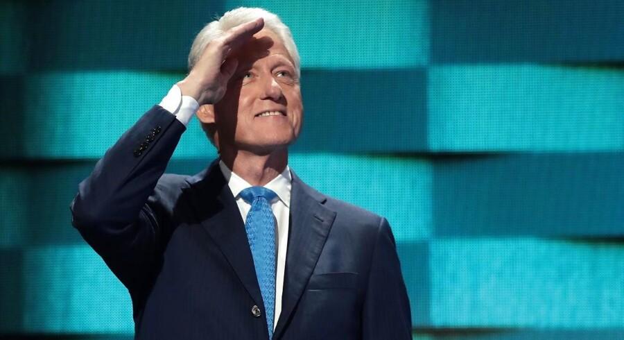 Bill Clinton til Democratic National Convention i 2016.