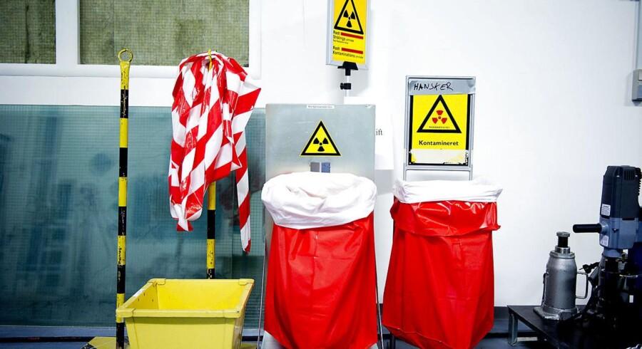 Forsøgscenter Risø. Bortskaffelse af radioaktivt affald.