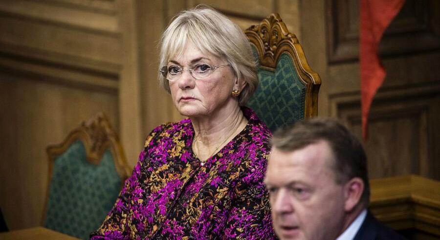 Folketingets formand Pia Kjærsgaard under Folketingets åbning tirsdag d. 4. oktober 2016.
