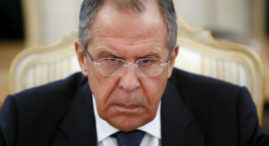 Ruslands udenrigsminister Sergej Lavrov lægger ikke fingre imellem, når han kommenterer Sverige og landets forhold til NATO. Arkivfoto: Sergej Karpukhin/Reuters