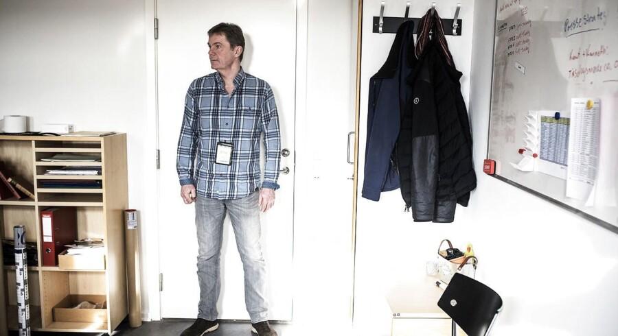 Efterforskningsleder ved Nordsjællands Politi, Henrik Gunst. Hos Nordsjællands Politi i Helsingør d. 15 februar 2018.
