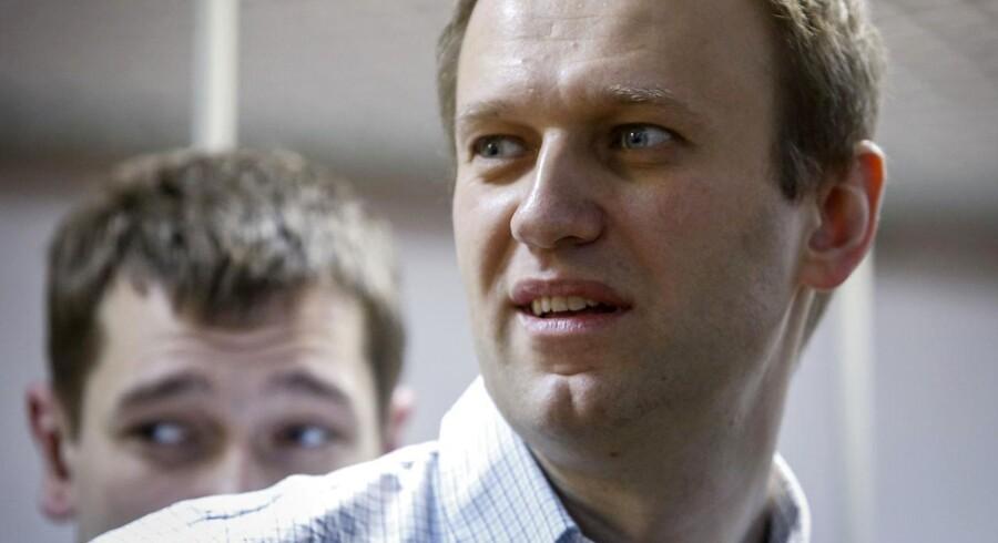 Arkivfoto. En bedragerisag fra februar bremser oppositionsaktivists plan om at stille op til præsidentvalget i Rusland.