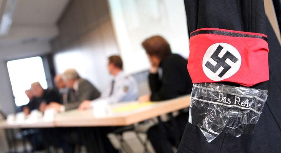 Arkivfoto: Tysklands militære efterretningstjeneste undersøger 275 formodede lovovertrædelser for højreekstremisme blandt soldater.