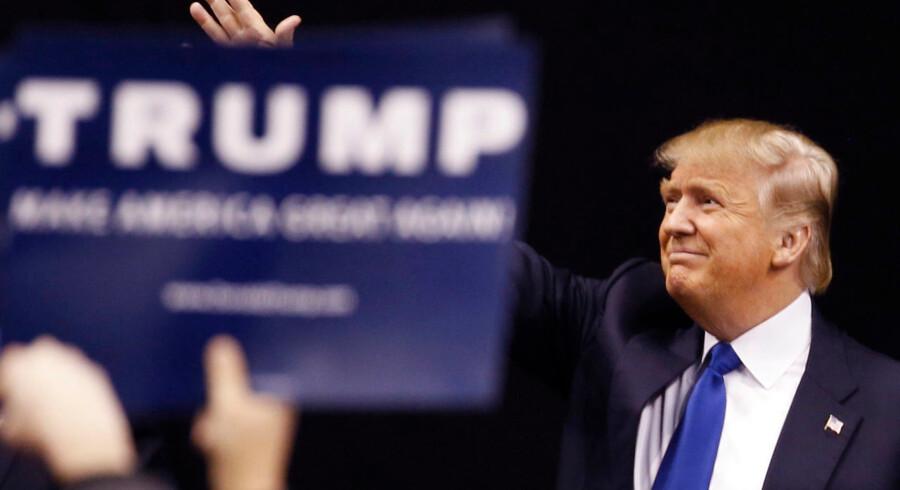 Den kontroversielle rigmand Donald Trump kæmper i øjeblikket for at blive Republikanernes præsidentkandidat i USA og i sidste ende sit lands næste præsident.