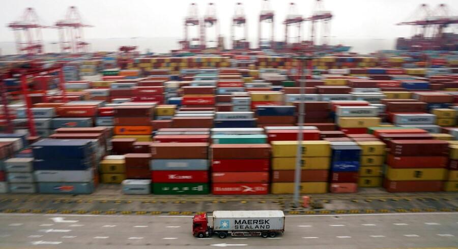 Danmark sendte flere varer til sit største eksportmarked i maj.