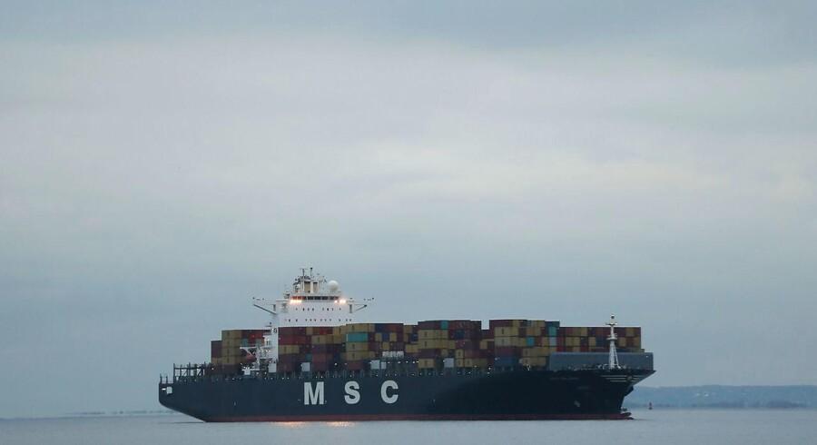 Vi har eksporteret 5,1 procent mere i årets tre første kvartaler end på samme tidspunkt sidste år.